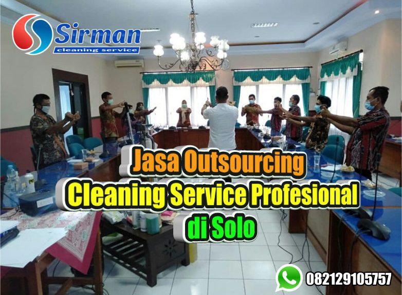 Jasa Outsourcing Cleaning Service Berpengalaman di Solo, Memberikan Kebutuhan SDM Berkualitas